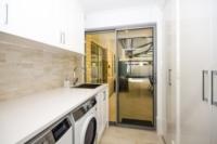 Laundry Remodel+Sleek+Modern