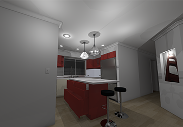 Shelley Kitchen Remodel Concept Drawing