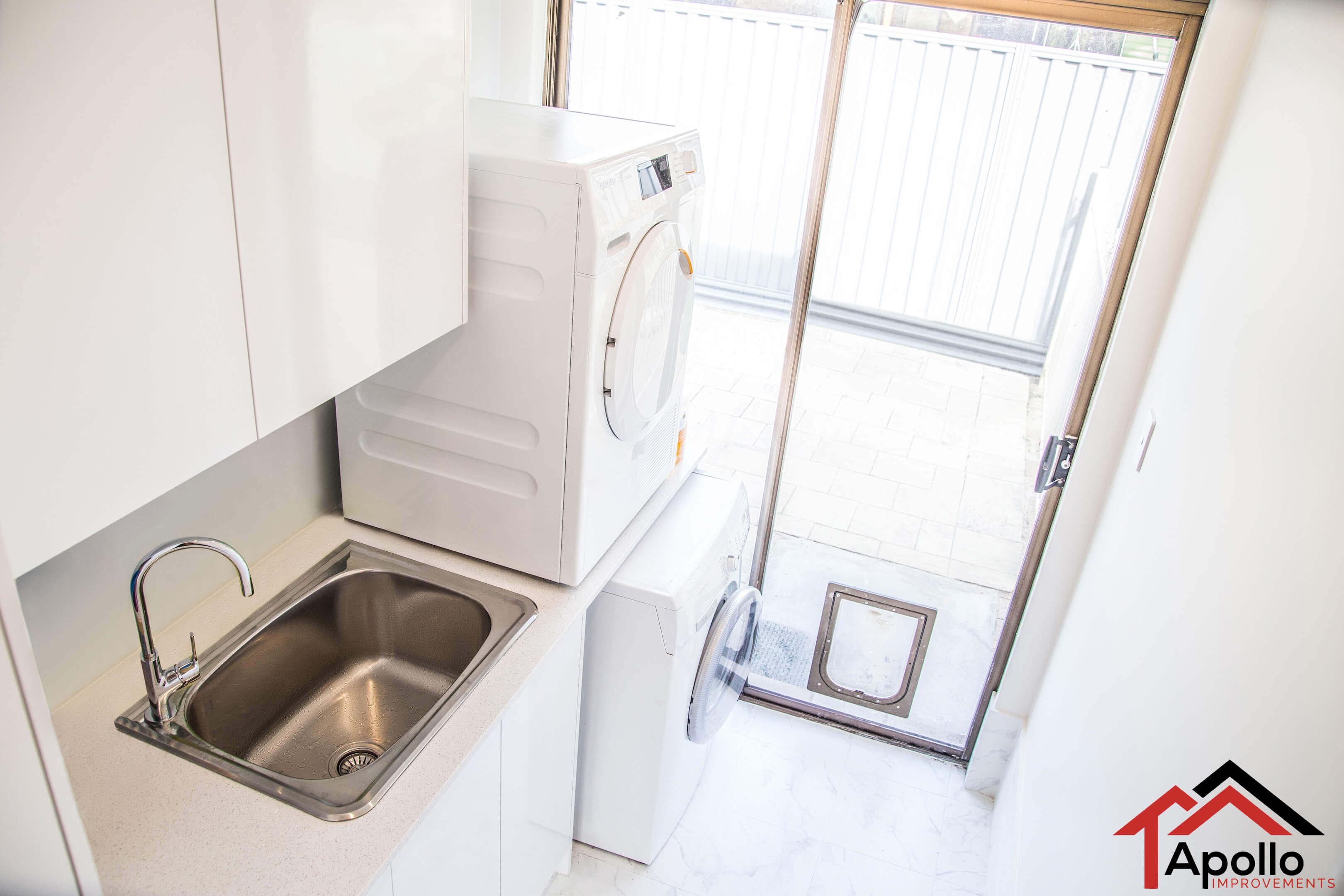Laundry remodel Apollo Improvements