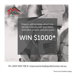 Travel Voucher Promotion | Apollo Improvements